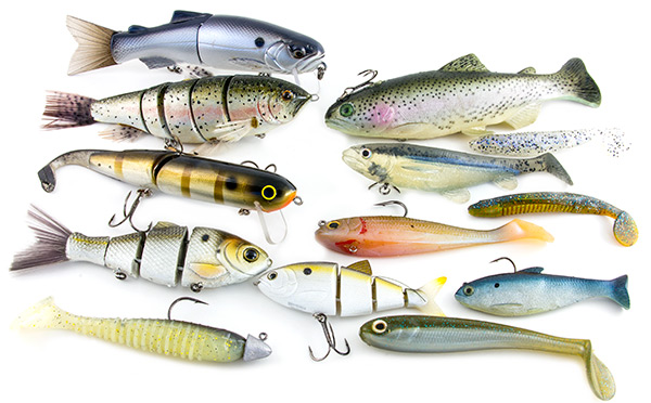 Marvelous Bass Fish Lures