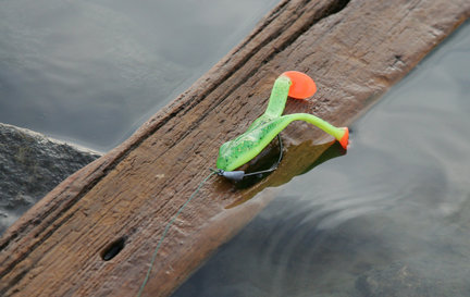 Cute Bass Frog Lures