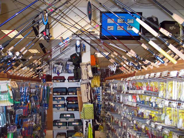 Dazzling fish tackle shop 2016 for Fishing equipment stores