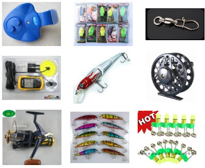 Various Fishing Gear Online