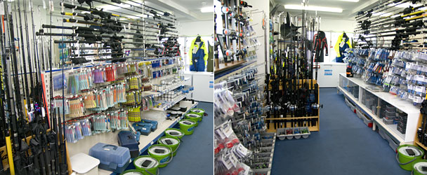 Wonderful Fishing Rod Shop