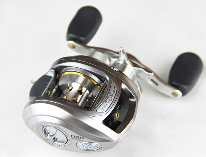 Silver Bass Fishing Reels
