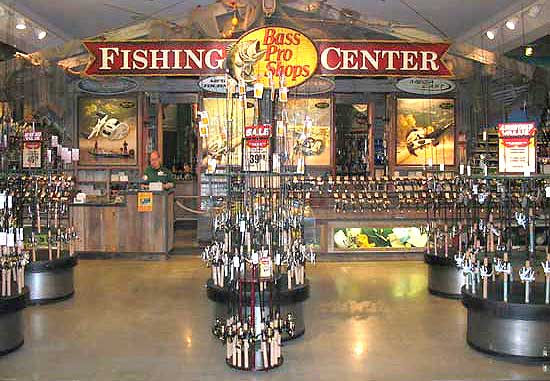 Refined Bass Fishing Tackle Shops