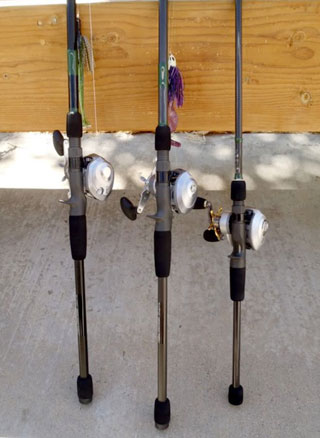 Refined Bass Rods For Sale