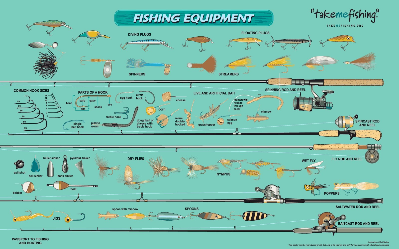 Charming Fish Equipment