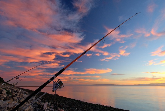Sunset Fishing Poles And Reels