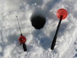 Taking Ice Fishing Gear