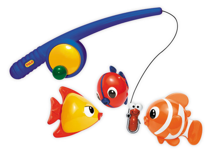 Cute Kids Fishing Gear
