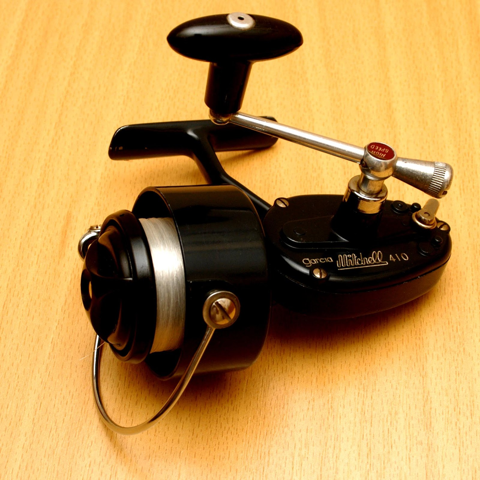 Black Mitchell Fishing Reels
