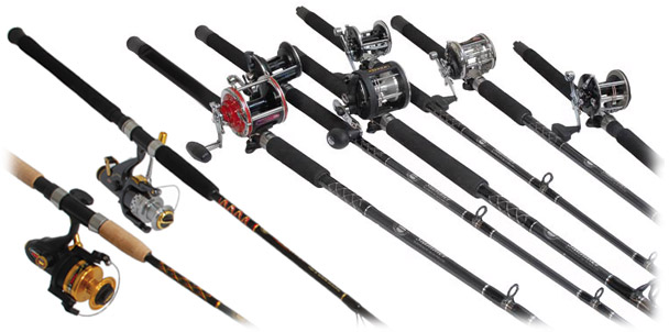 Great Rod And Reel Combos