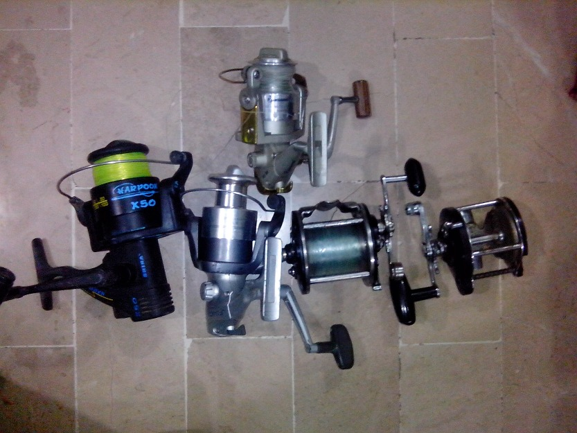 Few Used Fishing Equipment For Sale
