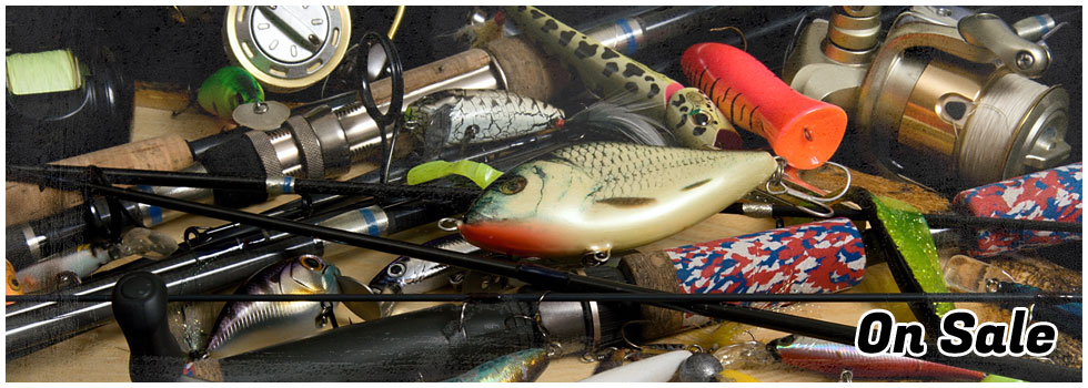 Various Wholesale Fishing Equipment